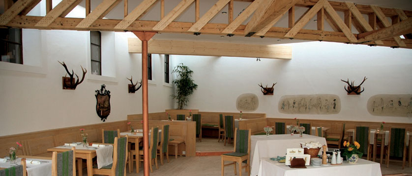Hotel Zur Post, St. Gilgen, Salzkammergut, Austria - dining room interior.jpg
